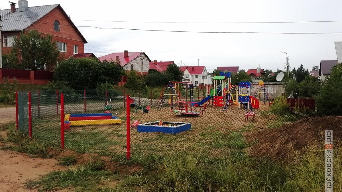 площадка етская, чайковский район, 2018 год
