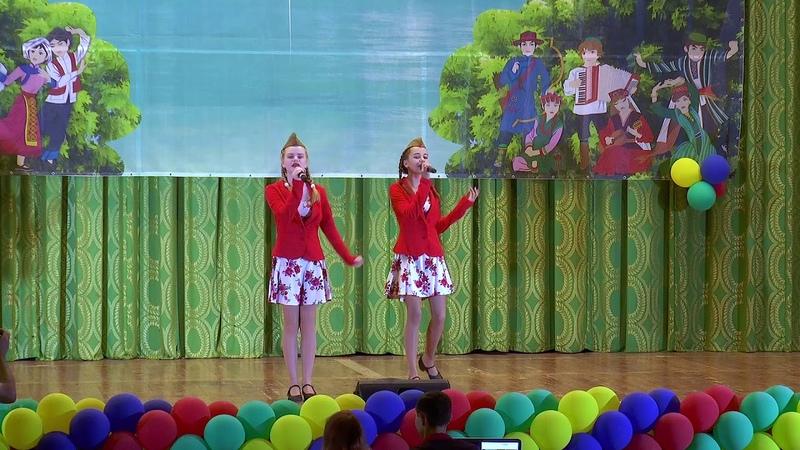 Можевикина Анита и Калитвенцова Юля Солдат молоденький