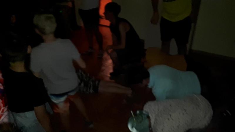 танцы;) А кто не танцует тот отжимается 💪