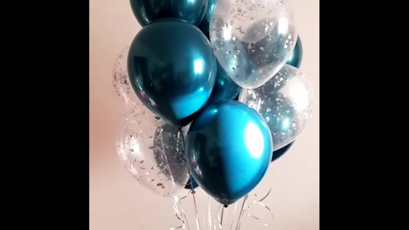 Только сегодня отдадим связку очень красивых шариков за пол цены, цена такого набора 1035₽, сегодня 517,5₽❗ заказ выполнили к 8-