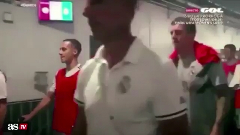 Marco Asensio calling David de Gea Karius as the players were in the tunnel for the Real Madrid vs Man Utd friendly.