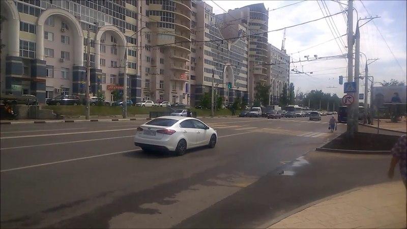 Пешеходные переходы на Ленинском проспекте