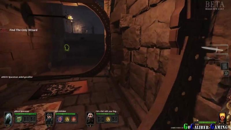 Warhammer End Times Vermintide BETA Walkthrough Gameplay - Part 7 -The Wizards _HD.mp4
