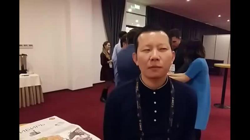 Cai You Kai компания Letu Trading СибирскийЭкономическийФорум СЭФ2017 СоветскаяСибирь VNRU