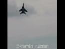 МИГ29 потрясающие кадры вертикальный взлёт
