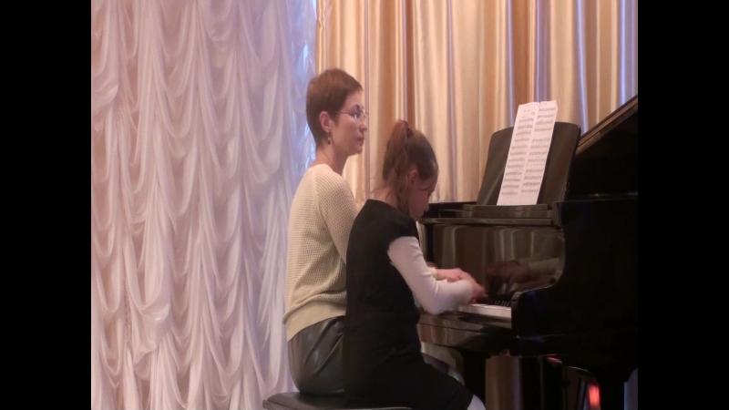 Фортепианный дуэт Дегтярева О А Тулина Анна