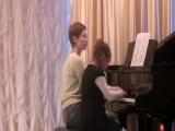Фортепианный дуэт. Дегтярева О.А., Тулина Анна