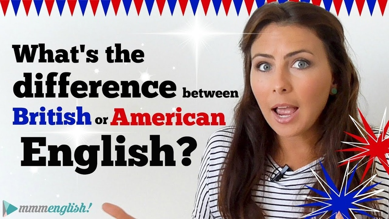 What's the difference between American British English? 🇺🇸🇬🇧