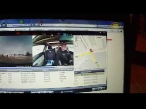 Видеорегистратор Dixon DVR R300 с двумя камерами и GPS