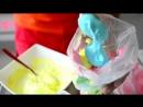 Безе - Радужные Меренги - легкий рецепт - как приготовить дома оригинальный десерт