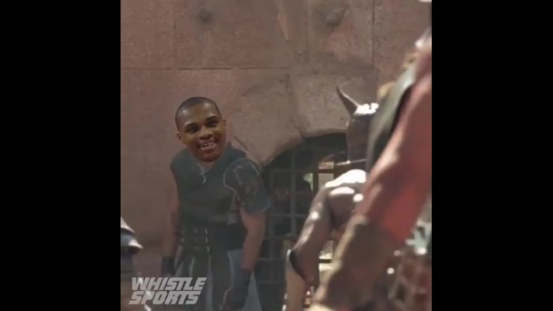 Russ slayed the Warriors ⚔