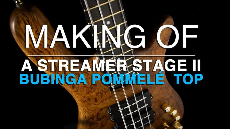 MAKING OF a Warwick Custom Shop Streamer Stage II - for Tool's Justin Chancellor 17-3377