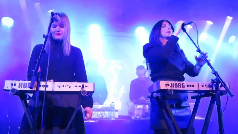 Marsheaux - Like a Movie - live in Gothenburg 2018-01-27 at Electronic Winter in Musikens Hus