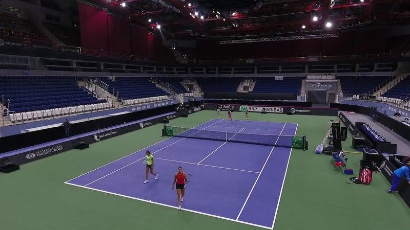 Теннис. Мировая группа. Плей-офф. 21-22 апреля 2018.г.