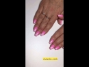 Натуральные ногти с коррекцией и укреплением