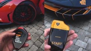 Top 10 coolest Supercar touch Keys   Concept keys of Sports Car