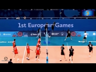 Fantastic volleyball defense ( DIGS ). Best volleyball actions in defence.