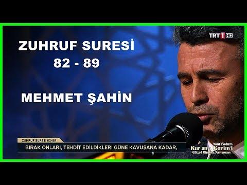 Kur'an ı Kerim'i Güzel Okuma Yarışması Mehmet Şahin Hafta Finali