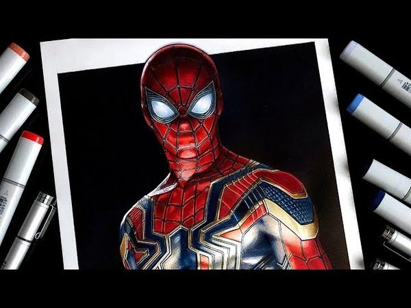 Spider-Man Drawing - Avengers: Infinity War