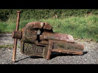 [Black Beard Projects] Vise Restoration Italian Steel Dovetail Style