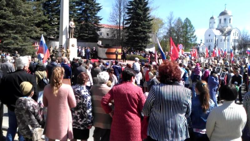 Празднование Дня Победы 9 мая в Кохме