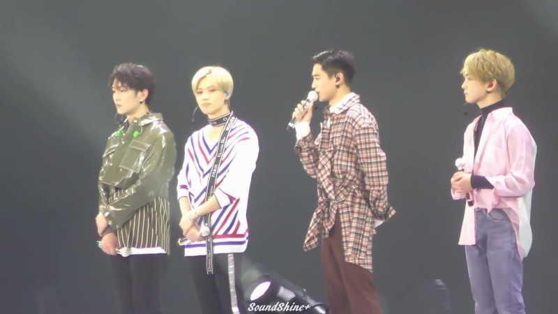 180226 Last Talk [SHINee WORLD THE BEST 2018~FROM NOW ON~] Tokyo