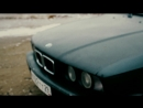 BMW 525i e34 on the White Sea