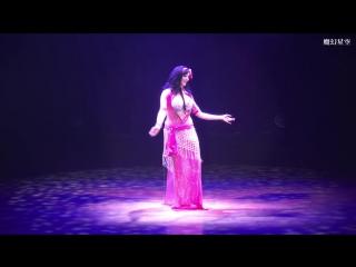 Shahrzad Belly Dance Baladi Tabla Solo 2017 Taiwan