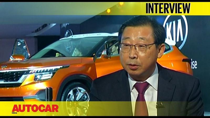 Han Woo Park CEO President Kia Motors Corporation Interview Autocar India