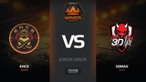 ENCE vs 3DMAX, map 1inferno, Europe Minor FACEIT Major 2018
