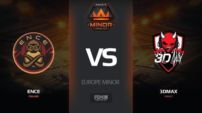 ENCE vs 3DMAX, map 1inferno, Europe Minor – FACEIT Major 2018