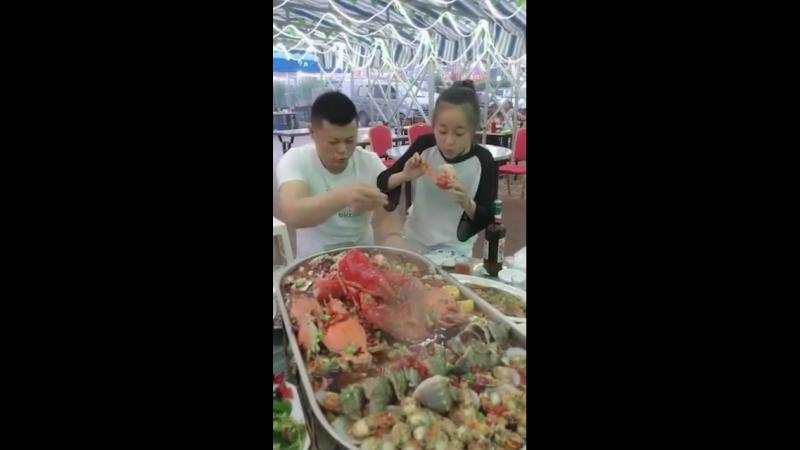 Немного видео про китайскую кухню