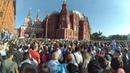 Болельщики сборной Аргентины окупировали манежную площадь