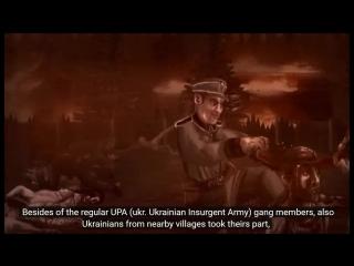 WOŁYŃ 1943 ukraińskie ludobójstwo  (animacja)