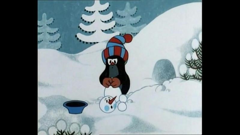 м/ф Крот и снеговик