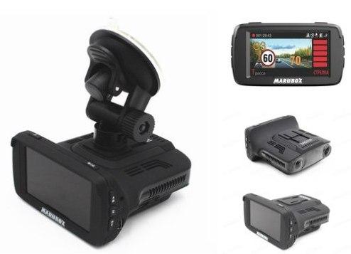 Видеорегистратор + радар + GPS - Marubox