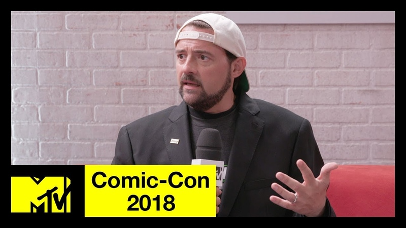 Kevin Smith on His Heart Attack, Avengers 4 the DC Universe | Comic-Con 2018 | MTV