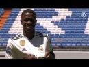 Презентация Винисиуса в качестве игрока Реал Мадрид
