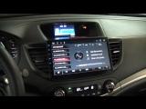 Магнитола LeTrun на Honda CRV 2013 года
