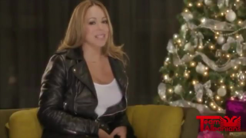 MariahCarey wishes all of her fans in Albania a MerryChristmas and a HappyNewYear!