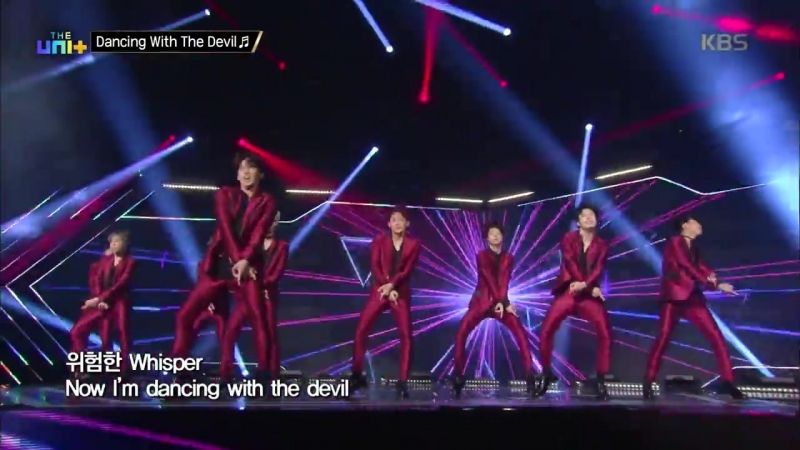 [180224] The Unit <Special Show>더 유닛 The Unit - 마음 뺏길 준비완료! 유앤비의 Dancing With The Devil.20180224