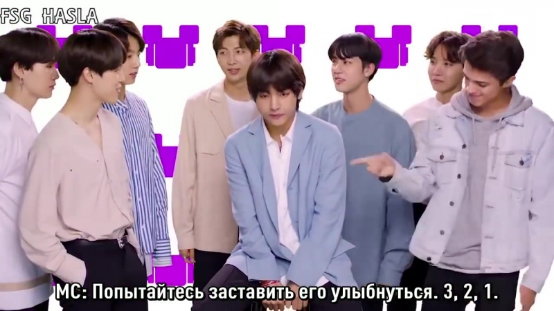 [RUS SUB] BTS So Happy Challenge with Brent Rivera