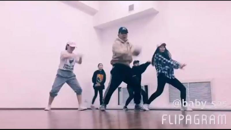 Dance studio GAMMA совместно с звездой инстаграма 😎😂