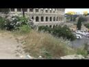 Colle oppio_le terrazze del colosseo nel degrado