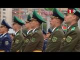 Военный Парад в Минске 3 июля 2018. Плац концерт