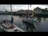 яхты собираются на гонку в честь Дня ВМФ России