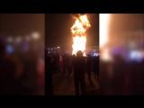 VL.ru - На Сахалине в новогоднюю ночь сгорела главная елка