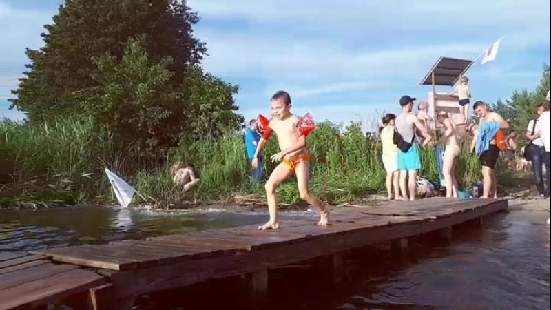 ура летняя прохлада ) прыг, будь буль
