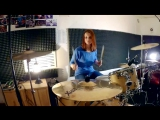 Three Days Grace - Give It To Me (drum cover by Танюха)