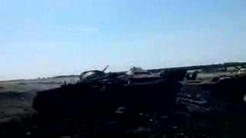 Ukrainskaya_72-ya_brigada_posle_obstrela_GRADom_so_storony_Rossii[MosCatalogue.ru]